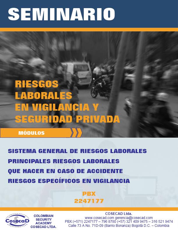 RIESGOS LABORALES EN VIGILANCIA Y SEGURIDAD PRIVADA